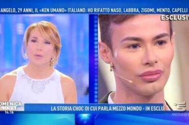 Angelo Sanzio, il 'Ken umano' italiano da Barbara d'Urso