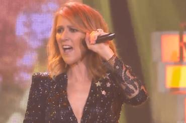 Celine Dion, festone di Capodanno live da Las Vegas – il video
