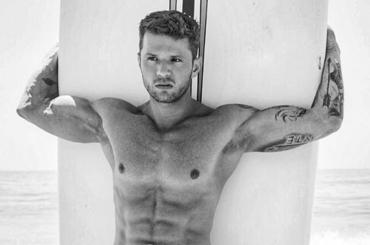 Ryan Philippe, fisico da sturbo per  Men's Fitness – foto Instagram