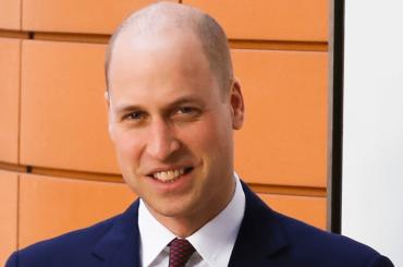 Il Principe William s'è fatto la boccia – finalmente via quei 4 peli in croce