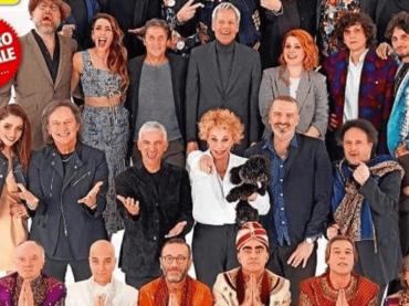 Sanremo 2018, ecco l'immancabile copertina di Tv Sorrisi e Canzoni