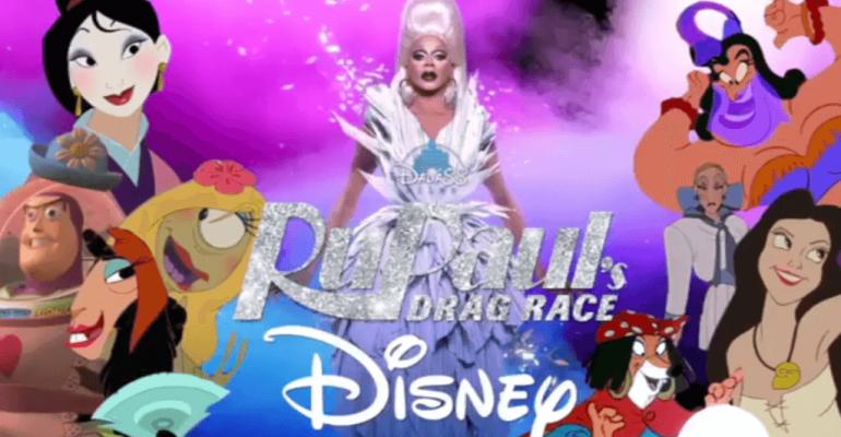 RuPaul's Drag Race/Disney, il video crossover