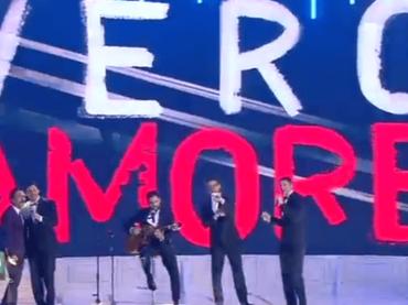 90 Special, i Ragazzi Italiani live con VERO AMORE – video