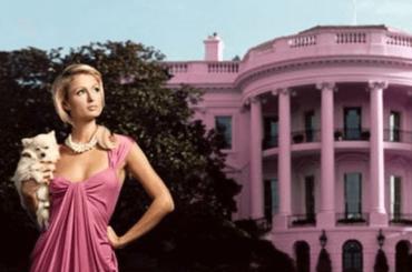 Paris Hilton sogna la Casa Bianca – le foto Instagram