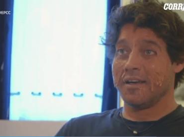 E poi c'è Cattelan, Gabriel Garko si sfotte: 'mi dicono che ci sia più plastica sulla mia faccia che nel Mediterraneo' – video