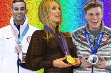 PyeongChang 2018, Britney Spears scrive ai due atleti gay USA e loro impazziscono