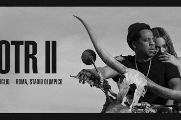 JAY-Z e Beyoncé live a San Siro e all'Olimpico di Roma il 6 e 8 luglio 2018