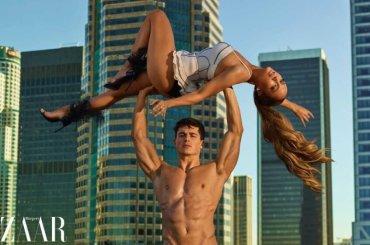 Jennifer Lopez pazzesca su Harper Bazaar (sostenuta da Pietro Boselli), le foto
