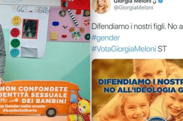 Giorgia Meloni orgogliosa del suo sostegno al Bus dell'Omofobia