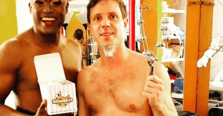 Jake Shears in mutande, la foto Instagram