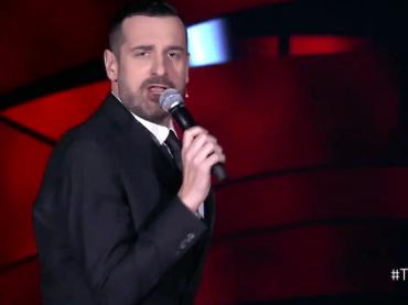 The Voice, Costantino canta Borderline di MADONNA – video
