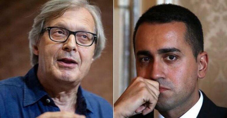 Vittorio Sgarbi fa outing su Luigi Di Maio: 'è gay sta con Vincenzo Spadafora'
