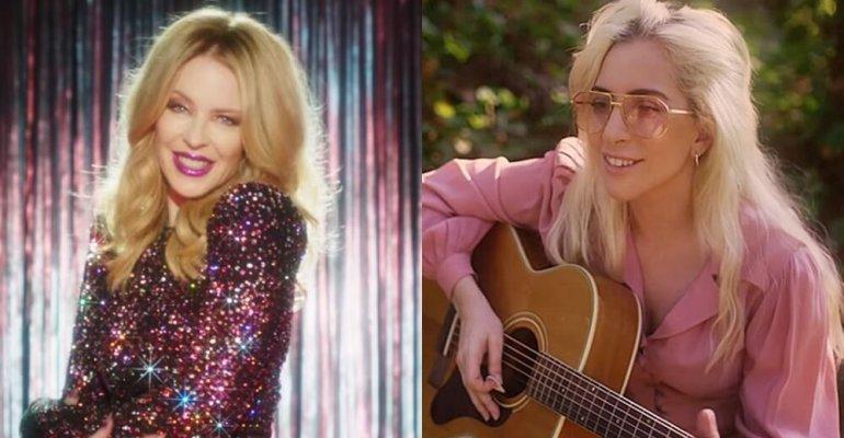 Kylie Minogue insiste, 'Lady Gaga è la mia preferita, è impressionante, incredibile'