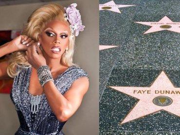 RuPaul avrà una stella sulla Hollywood Walk of Fame