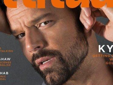 Ricky Martin su Attitude: 'ho sprecato così tanta energia per nascondere la mia omosessualità'