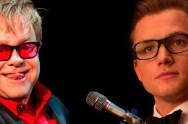 Rocketman, Taron Egerton sta registrando canzoni per il biopic su Elton John