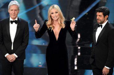 Sanremo 2019, la Rai vuole confermare Claudio Baglioni, Michelle Hunziker e Pierfrancesco Favino