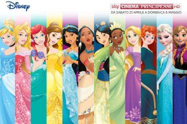 Sky Cinema Principesse HD, dal 21 aprile arriva il canale interamente dedicato a tutte le Principesse Disney