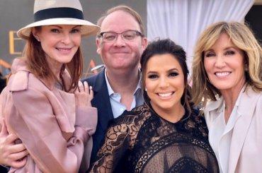 Desperate Housewives, reunion per la stella sulla Hollywood Walk of Fame di Eva Longoria