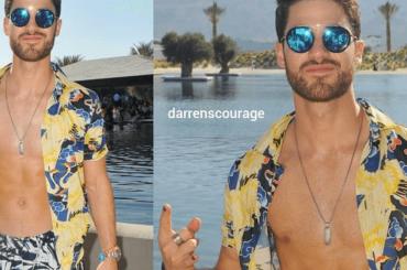 Darren  Criss sgnacchero al Coachella 2018, le foto social