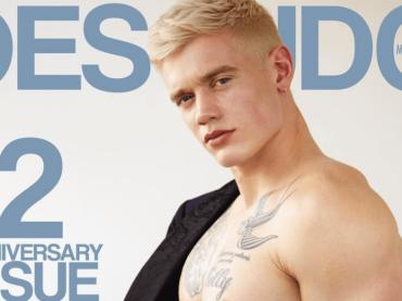 Charlie Auterac nudo per Desnudo magazine, le foto