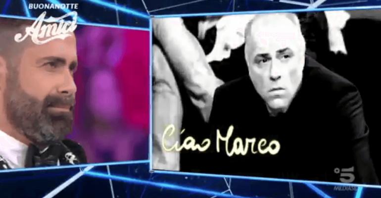 Amici, l'omaggio a Marco Garofalo in onda dopo l'1 di notte – video