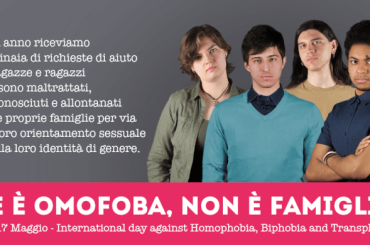 Giornata Internazionale contro l'omo-bi-transfobia, c'è bisogno SUBITO di una legge