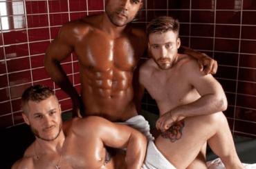 Austin Armacost  show per una sauna gay londinese, lo spot XXX