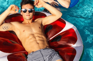 Tom Daley, è pacco Instagram – la foto