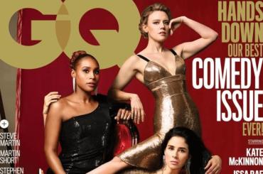 GQ, geniale copertina in cui l'esagerazione photoshop è VOLUTA