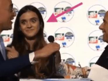 """Berlusconi:  """"Preferisco lei"""" – Il coordinatore FI: """"È mia figlia"""" – il video"""
