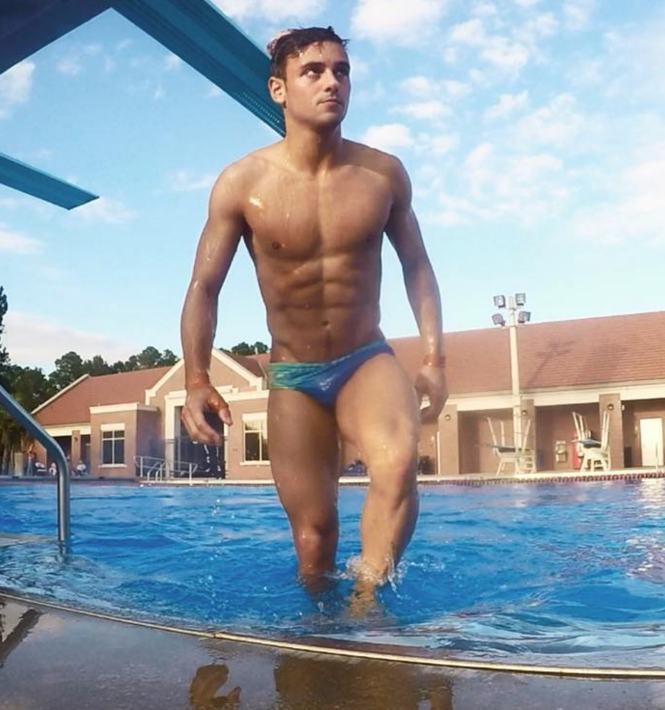 Tom Daley Showers In Coffee And Crushes Lemons With His Biceps In Healthy Eating Pics