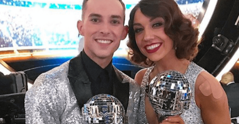 Dancing With The Stars 2018,  Adam Rippon in trionfo – video e foto