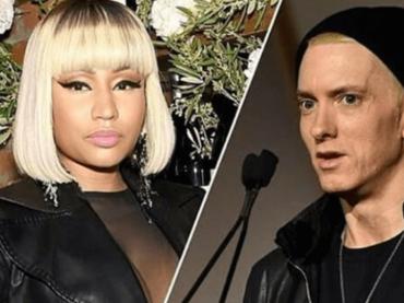 Nicki Minaj rivela: 'sto uscendo con EMINEM' (ma puzza di cazzata)