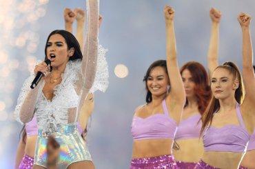 Dua Lipa show per la finale Champions, il video completo