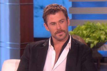 Chris Hemsworth canta e balla come un pazzo 'Wrecking Ball' – video