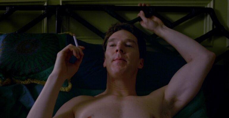 Patrick Melrose, Benedict Cumberbatch nudo con le chiappe al vento – le foto