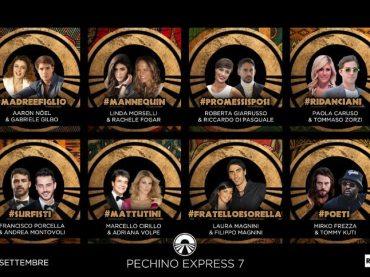 Pechino Express 2018, ecco le 8 coppie ufficiali – Eleonora Brigliadori ha cambiato nome