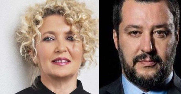 Rossana Casale vs. Matteo Salvini: volano stracci su Twitter