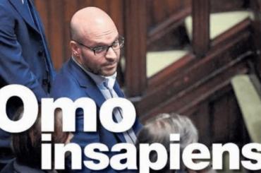 Lorenzo Fontana, la prima pagina definitiva de Il Manifesto sul ministro leghista