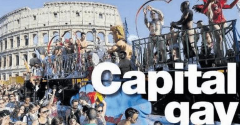 500.000 persone al Roma Pride ma i giornali se ne dimenticano (tolti gli insulti de Il Giornale e Libero)