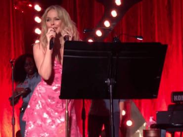 Kylie Minogue, inedito live a sorpresa – ecco New York City – video