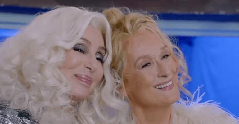 Mamma Mia 2, dietro le quinte in italiano dedicato a CHER – video