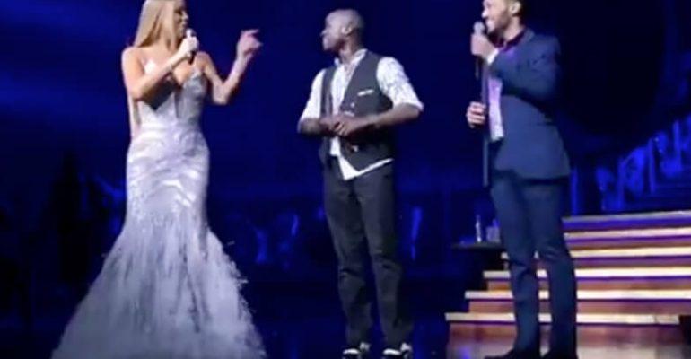 Mariah Carey aiuta un suo ballerino a dichiararsi all'amato – video