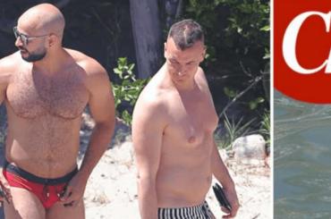 Rocco Casalino in vacanza con l'amato fidanzato cubano – le foto di CHI