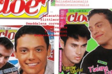 Tiziano Ferro ricorda le copertine di CIOE' primi anni '2000 – foto