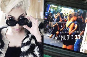 Taylor Swift entra nello studio di registrazione di Lady Gaga –  arriva il duetto?