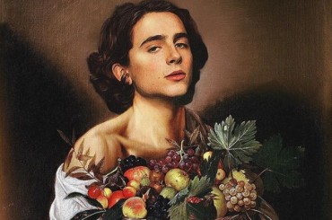 Timothée Chalamet opera d'arte, spopola la geniale pagina Instagram