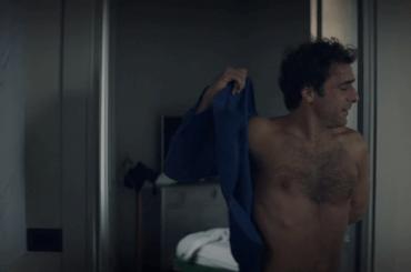 Adriano Giannini nudo ne Il colore nascosto delle cose, foto