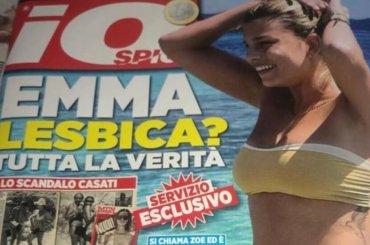 'Emma lesbica?': la Marrone asfalta il settimanale ''di'' FABRIZIO CORONA